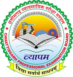 CG Vyapam SET Admit Card