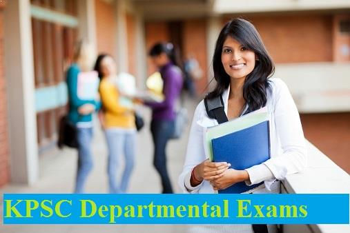 KPSC Departmental Exam Hall Ticket