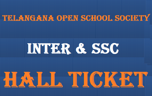 TOSS Inter & SSC Hall Ticket