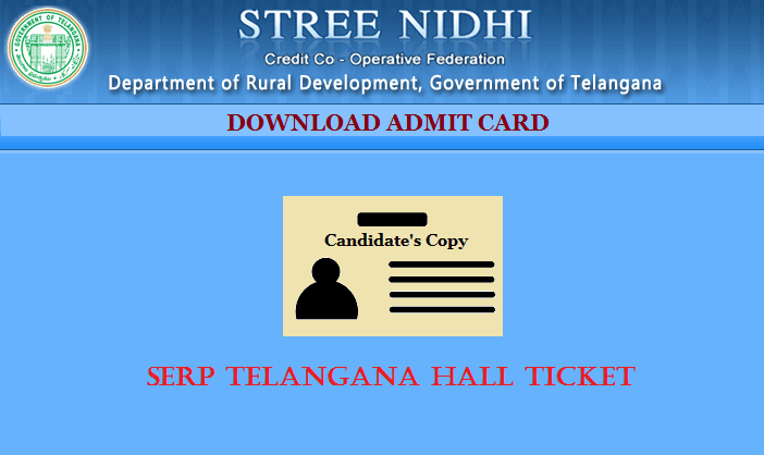 SERP Telangana Hall Ticket