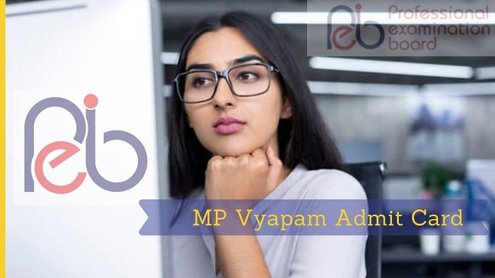 MP Vyapam Admit Card, Exam Date