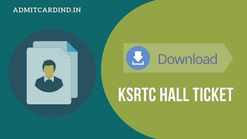 KSRTC Technical Assistant Hall Ticket, KSRTC TA Admit Card