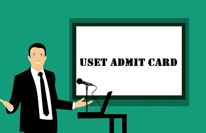 USET Admit Card