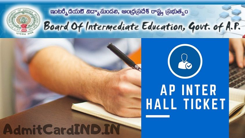 AP Inter Hall Tickets 2020 - AdmitCardIND
