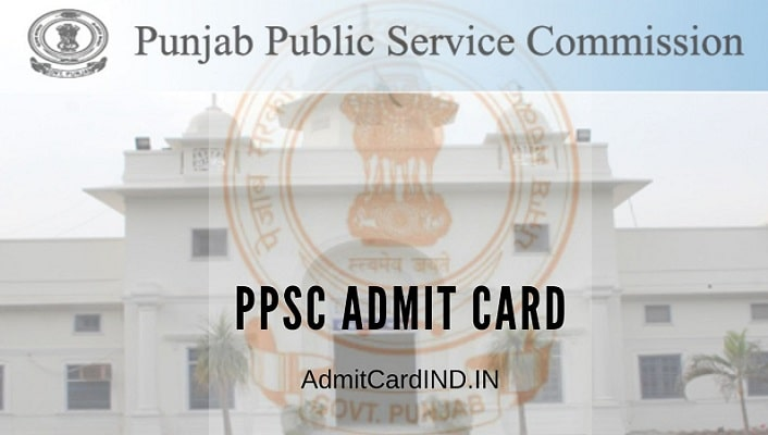PPSC Admit Card, Exam Date