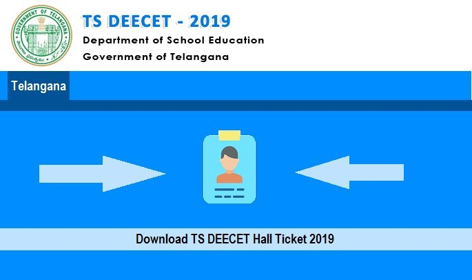 TS DEECET Hall Ticket 2019