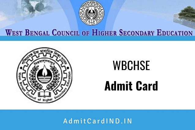 WBCHSE Admit Card