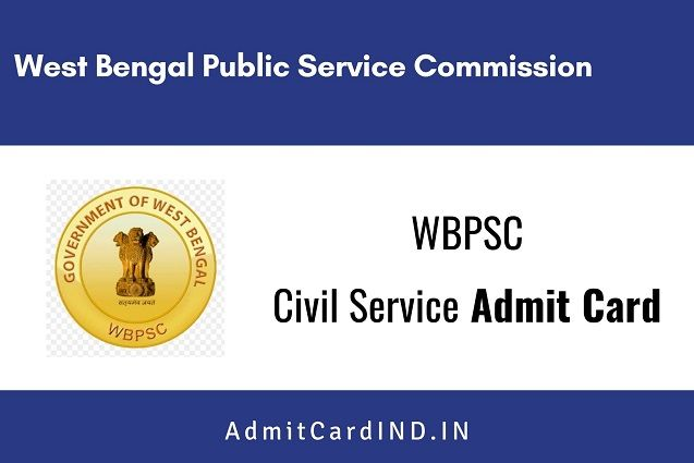 WBPSC Civil Service Admit Card 2020